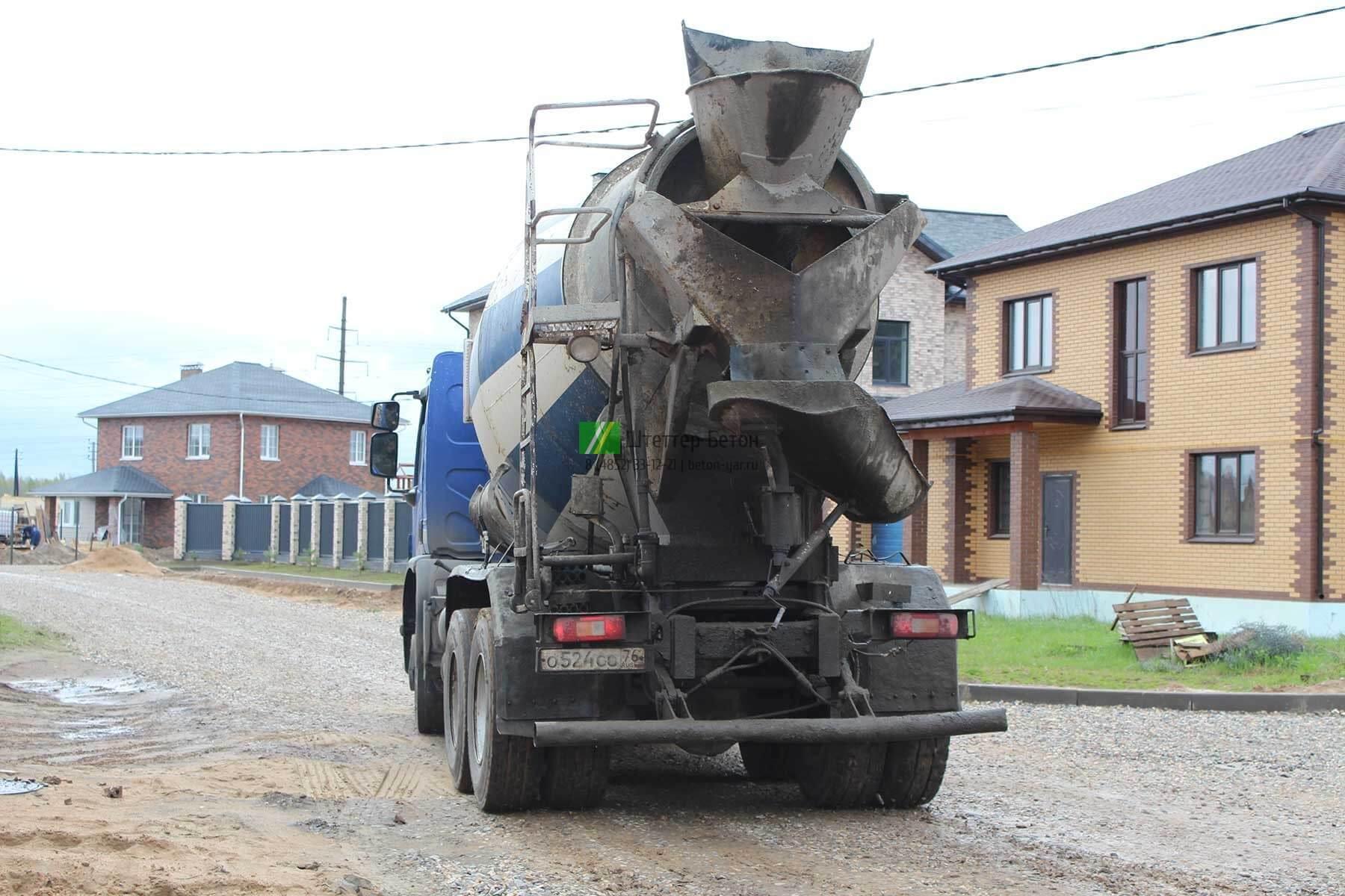 бетон М150 в Ярославле