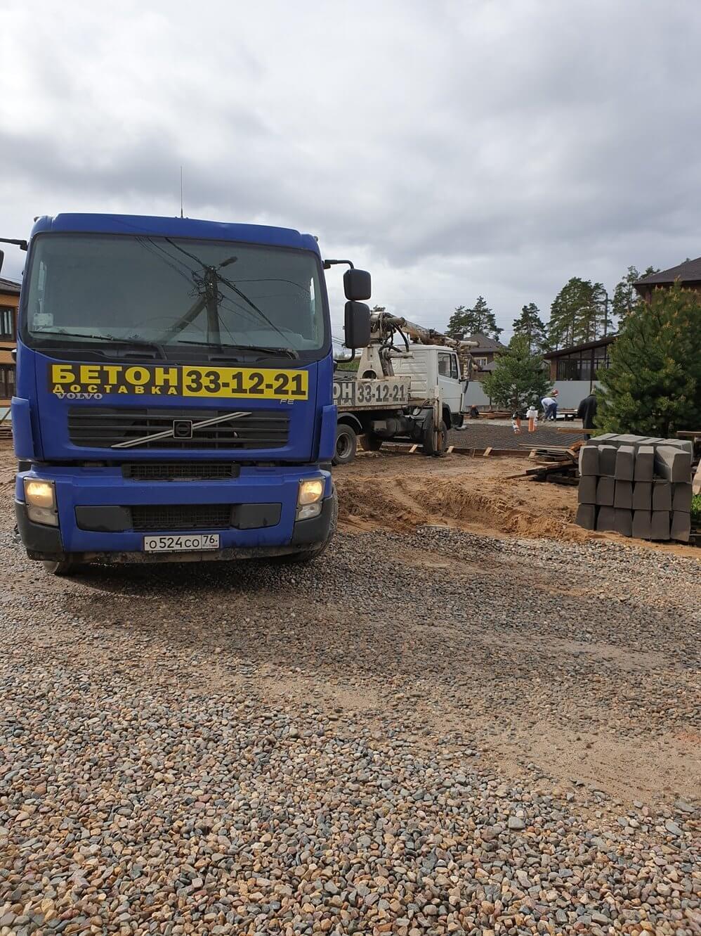Стоимость куба бетона с доставкой Ярославль