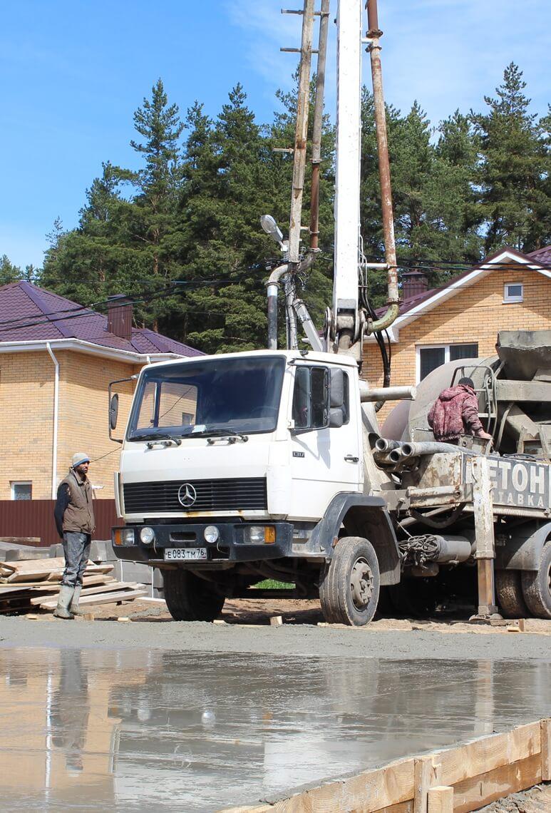 бетон для фундамента Ярославль